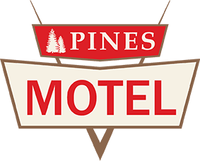 Pines Motel Logo